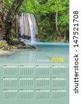 Calendar 2014  Erawan Waterfal...