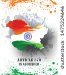 article370  and 35a demolished...   Shutterstock .eps vector #1475224646
