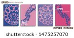 creative colored cover. cover... | Shutterstock .eps vector #1475257070