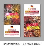 germany independence day... | Shutterstock .eps vector #1475261033