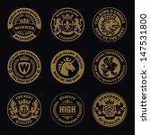 heraldic and stamps | Shutterstock .eps vector #147531800