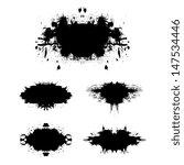 grunge background vector | Shutterstock .eps vector #147534446