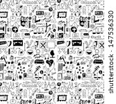 big set simplified design... | Shutterstock . vector #147536330