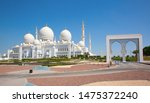 famous sheikh zayed mosque in... | Shutterstock . vector #1475372240