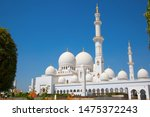 famous sheikh zayed mosque in... | Shutterstock . vector #1475372243
