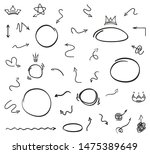 infographic elements on... | Shutterstock .eps vector #1475389649