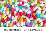 collection of the colorful... | Shutterstock . vector #1475396033
