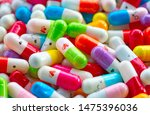 collection of the colorful... | Shutterstock . vector #1475396036