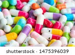 collection of the colorful... | Shutterstock . vector #1475396039