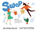 vector illustration about swap... | Shutterstock .eps vector #1475472950