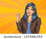 successful female businesswoman ...   Shutterstock .eps vector #1475481593