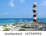 lighthouse  cancun  mexico | Shutterstock . vector #147549593