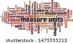measure units word cloud... | Shutterstock .eps vector #1475555213