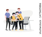 vector illustration. meetings...