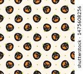 seamless raster pattern on... | Shutterstock . vector #1475608256