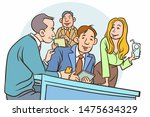 illustration group of young...   Shutterstock .eps vector #1475634329