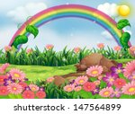illustration of an enchanting... | Shutterstock .eps vector #147564899
