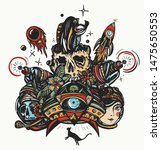 space adventure. game art print ... | Shutterstock .eps vector #1475650553