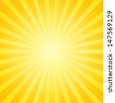 sun with rays star burst... | Shutterstock .eps vector #147569129