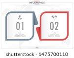 infographic business horizontal ... | Shutterstock .eps vector #1475700110