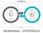 infographic business horizontal ... | Shutterstock .eps vector #1475700113