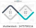 infographic business horizontal ... | Shutterstock .eps vector #1475700116