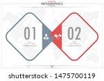 infographic business horizontal ... | Shutterstock .eps vector #1475700119
