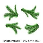 set of vector realistic... | Shutterstock .eps vector #1475744453