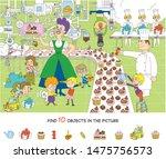 children on excursions.... | Shutterstock .eps vector #1475756573