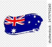 australia flag isolated. flag...