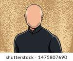 caricature portrait ...   Shutterstock .eps vector #1475807690