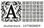 Vintage Monogram Letters....