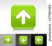 arrow upload icon. green color...
