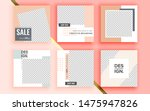 set of sale banner template... | Shutterstock .eps vector #1475947826