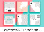 set of sale banner template... | Shutterstock .eps vector #1475947850