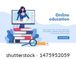 online education or business...   Shutterstock .eps vector #1475952059