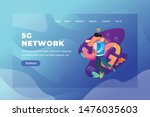 5g network   web page header...