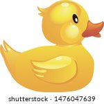 vector icon depicting a yellow ...
