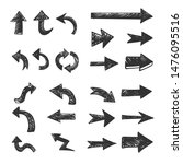 hand drawn arrows set. doodle...   Shutterstock .eps vector #1476095516