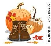 autumn illustration vector  ... | Shutterstock .eps vector #1476102170