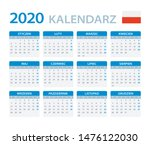 vector template of color 2020... | Shutterstock .eps vector #1476122030