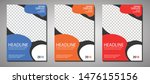 brochure cover book  template... | Shutterstock .eps vector #1476155156
