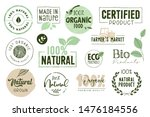 organic food  farm fresh and... | Shutterstock .eps vector #1476184556