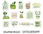 organic food  farm fresh and... | Shutterstock .eps vector #1476185699