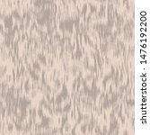 Furry soft blurry ikat animal print seamless repeat vector pattern swatch