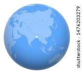 bangladesh on the globe. earth...   Shutterstock .eps vector #1476203279