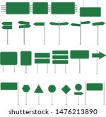 sign street big set isolated... | Shutterstock .eps vector #1476213890