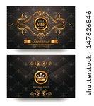 elegant invitation vip envelope ...   Shutterstock .eps vector #147626846