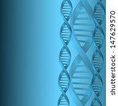 dna molecule structure... | Shutterstock . vector #147629570