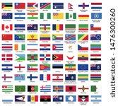 world flags nation flags flag... | Shutterstock .eps vector #1476300260
